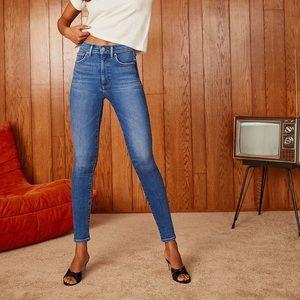 ARITZIA Denim Forum Lola High Rise Skinny Jeans 25